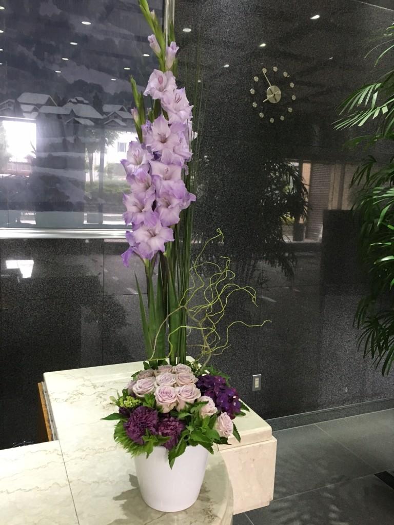 月曜日のお花