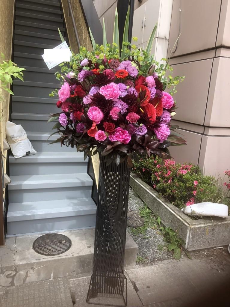 最近のスタンド花